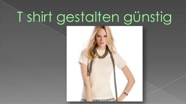 T shirt gestalten günstig