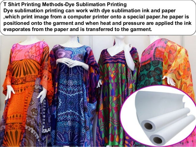 screen printing methods Whether one chooses a traditional screen-printing process or a modern digital printing process, custom t-shirt printing is easier than ever before.