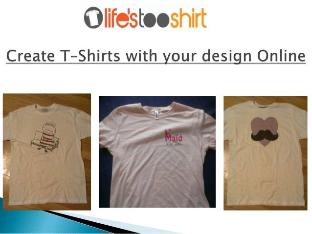 Custom Design T Shirt Printing Online