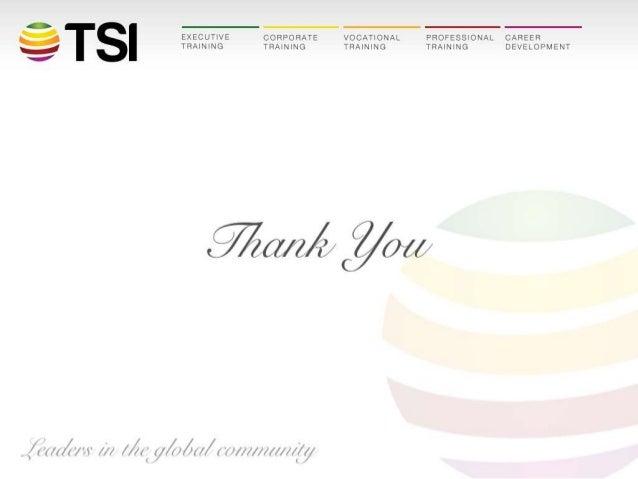 TSI Entrepreneurship Program