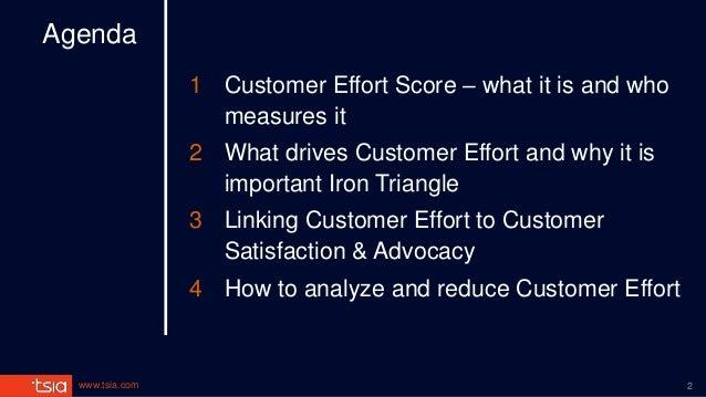 Is Customer Effort Score the new NPS? Slide 2