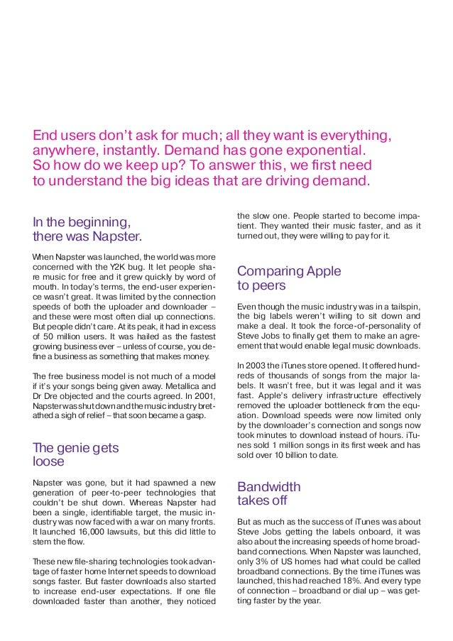 The Big ideas that are driving bandwidth Slide 2