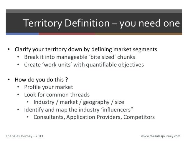 territory planning by Shraddha Kamat – Sales Territory Planning Template