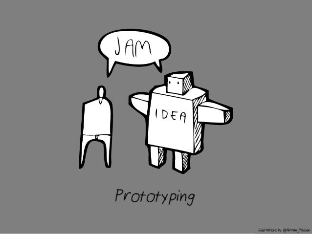 A prototype is an Interactive Model of a product, service or system -Fred Beecher, The Nerdery