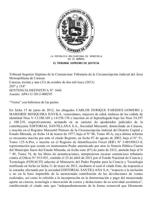 22/6/2015 TSJRegionesDecisión http://caracas.tsj.gob.ve/DECISIONES/2013/OCTUBRE/210131AP41U20120002951646.HTML 1...