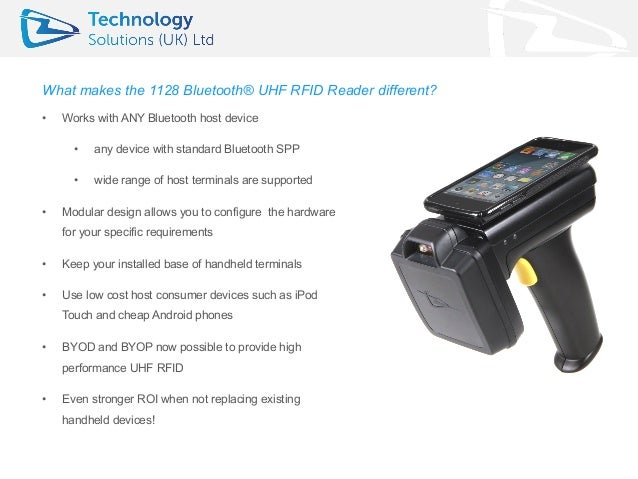 Why the 1128 Bluetooth® UHF RFID Reader is Different - TSL