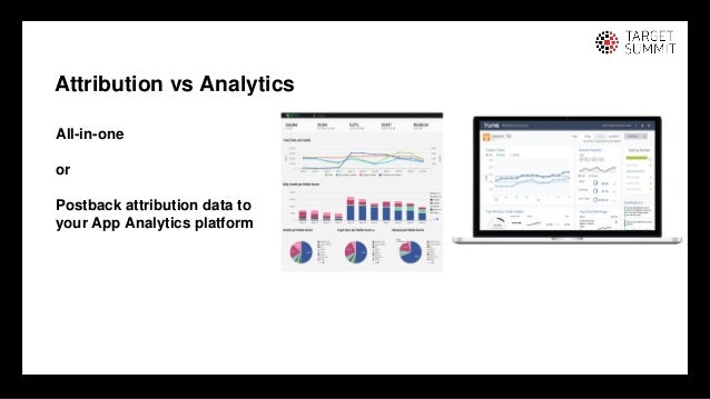 10 10 Attribution vs Analytics All-in-one or Postback attribution data to your App Analytics platform