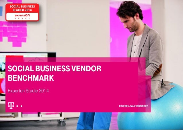 SOCIAL BUSINESS VENDOR BENCHMARK Experton Studie 2014