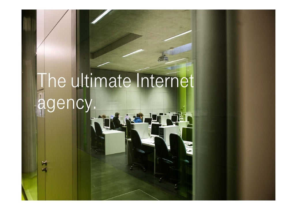 T-Systems Multimedia Solutions - The ultimate internet agency. Slide 2