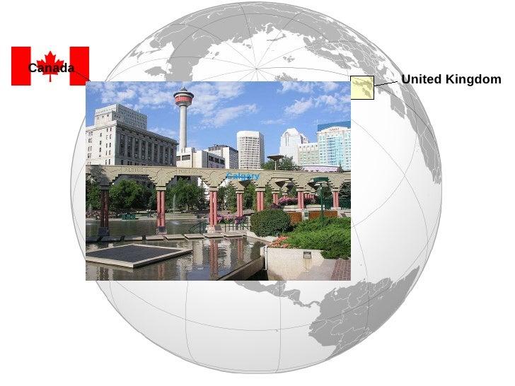 Calgary United Kingdom Canada