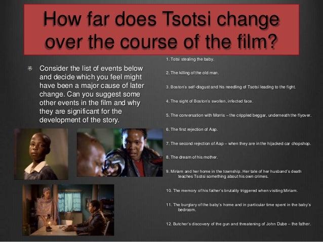 Exploring Themes in the film Tsotsi