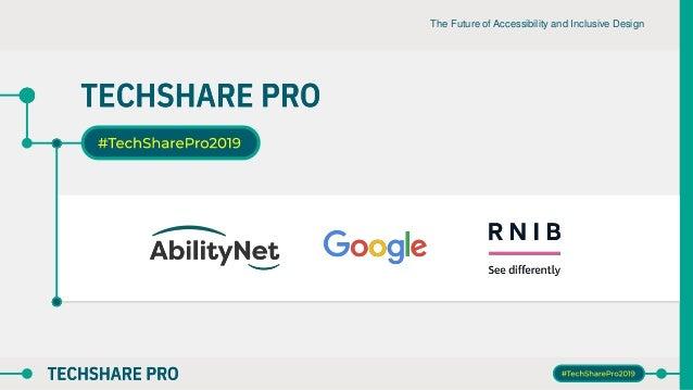 The Future of Accessibility and Inclusive Design