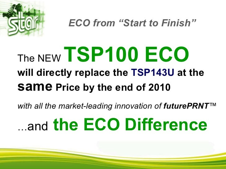 star tsp100 eco future print manual