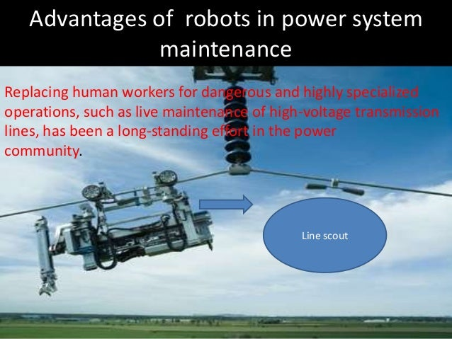 Robotic Monitoring Of Power System