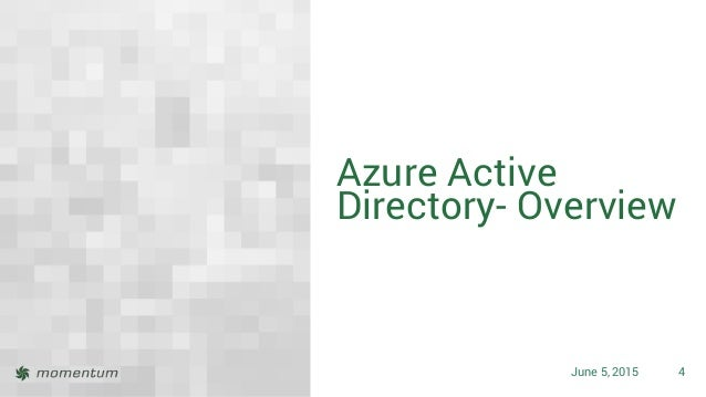 Office 365 Directory Synchronization