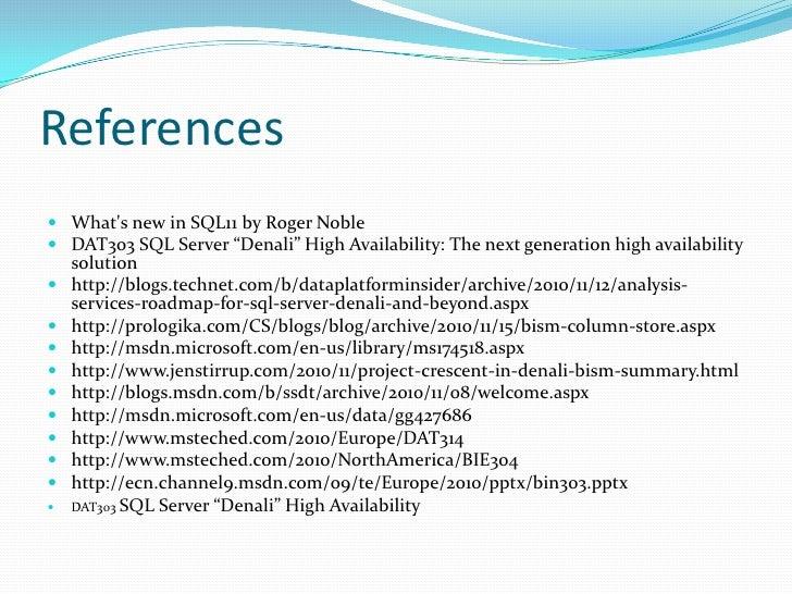 TSQL in SQL Server 2012 Slide 2