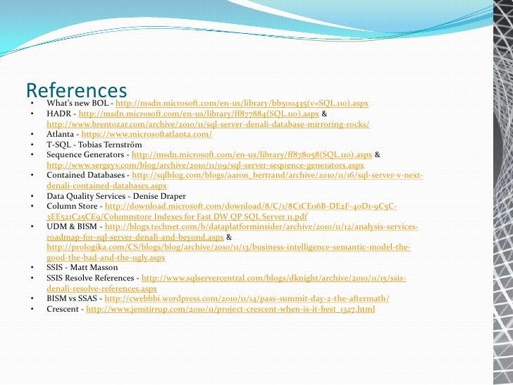 TSQL in SQL Server 2012 Slide 3