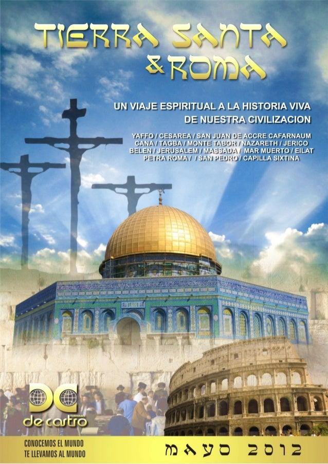 TEL AVID HAIFA PETRA VATICANO ITINERARIO DE VIAJE DIA 01) 13-MAYO-2012: FORMOSA – BUENOS AIRES: DIA 02) 14-MAYO-2012: BUEN...