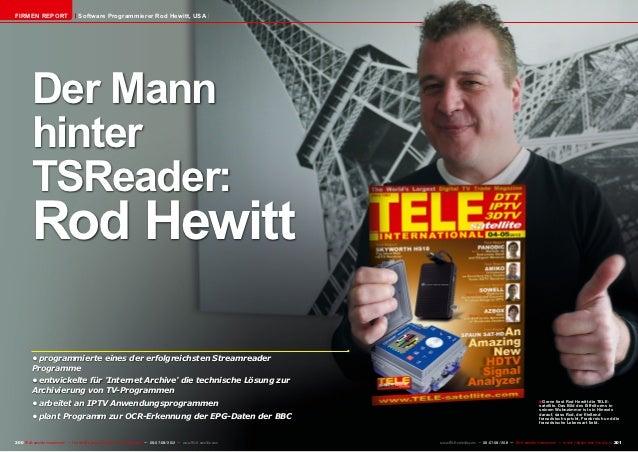 FIRMEN REPORT                        Software Programmierer Rod Hewitt, USA          Der Mann          hinter          TSR...
