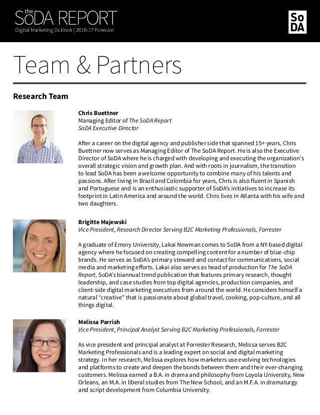 Sarah Sikowitz Principal Analyst Serving B2C Marketing Professionals, Forrester Sarah serves B2C Marketing Professionals a...