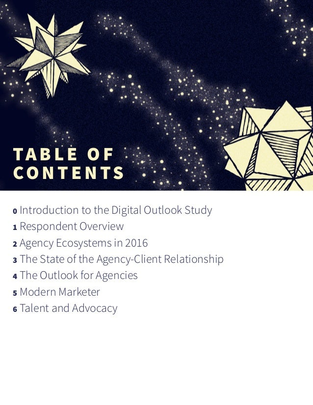 Introduction to the Digital Outlook Study The respondent base for this year's study proves once again that digital is on t...