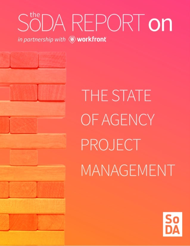 THESTATE OFAGENCY PROJECT MANAGEMENT in partnership with
