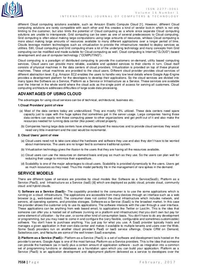 Cloud Service Level Agreement - Best Service 2017