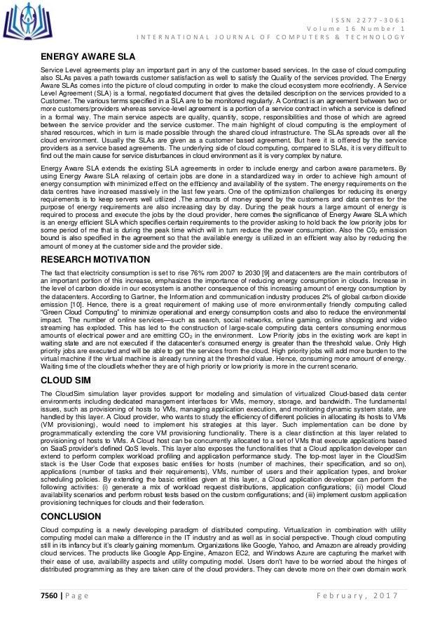 service level agreement cloud pdf