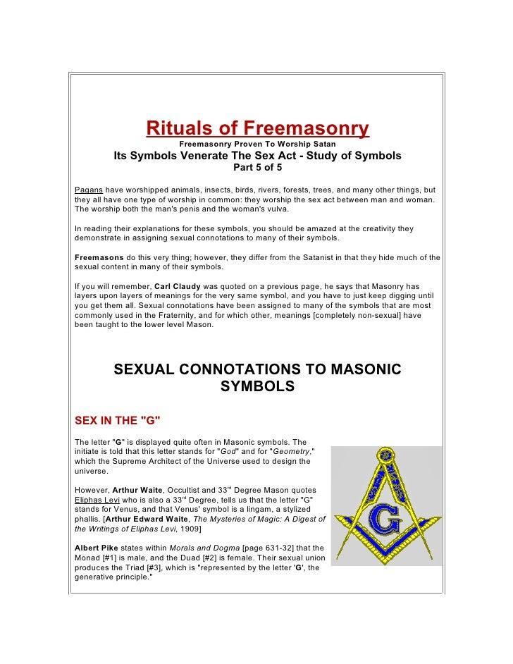 Ts Symbols Venerate The Sex Act Part5