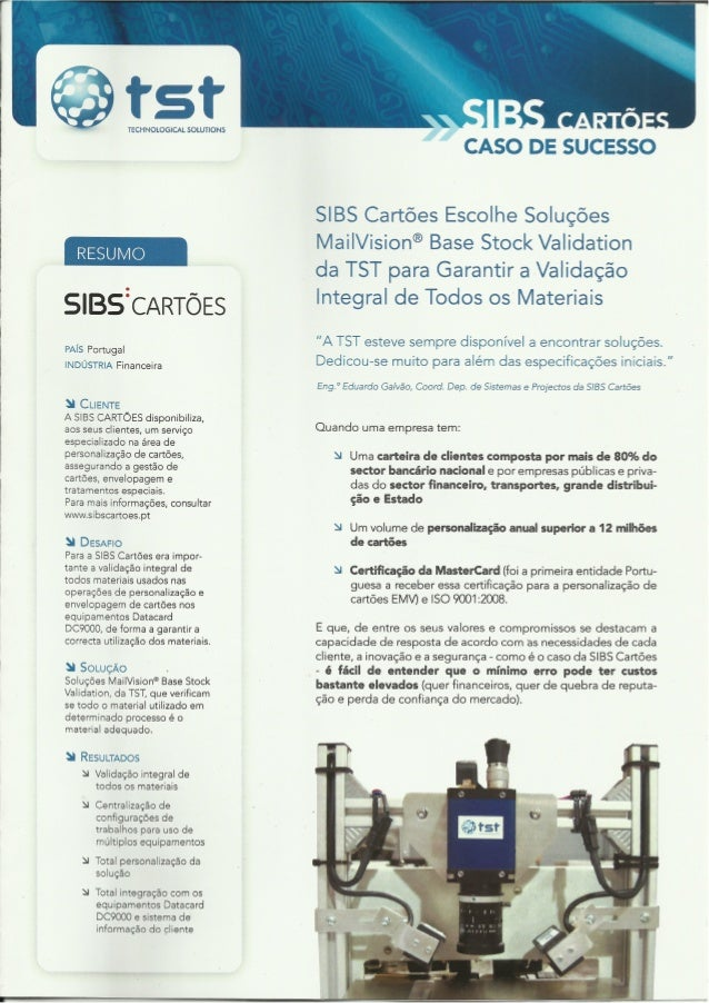 Case Study TST-SIBS
