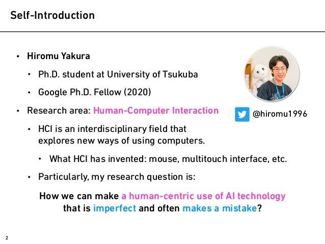 How to make good use of AI technologies? @ Tsukuba Conference 2021 Slide 2