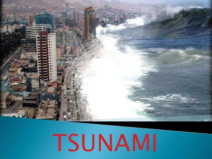 TSUNAMI<br />