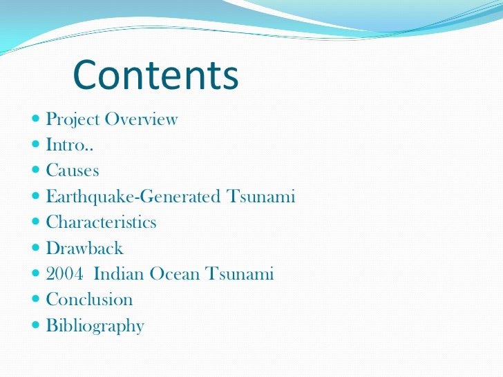 conclusion of tsunami essays