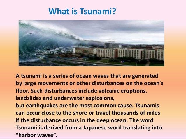All About Tsunami