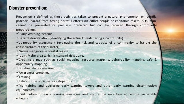 sharing responsibilities in tsunami Gujarat, the 2004 indian ocean tsunami, the 2008 earthquake in china, the  2007  we will write a custom essay sample on sharing responsibility – role of .
