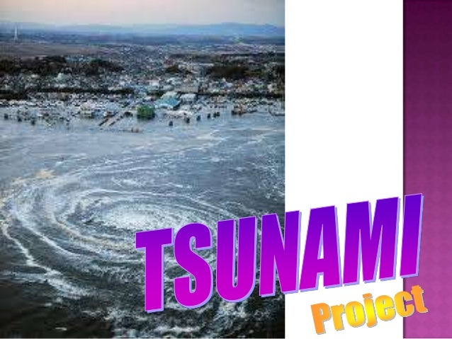 A tsunami (plural: tsunamis or tsunami; from Japanese, is a series of water waves caused by the displacement of a large vo...