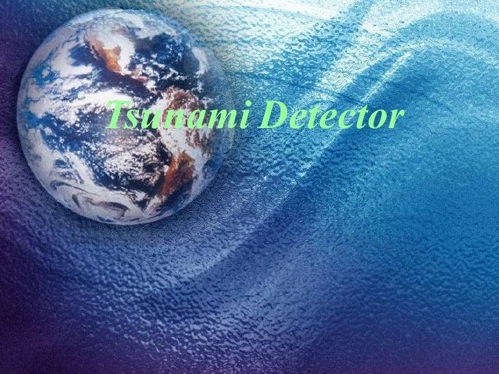 Tsunami   Detector