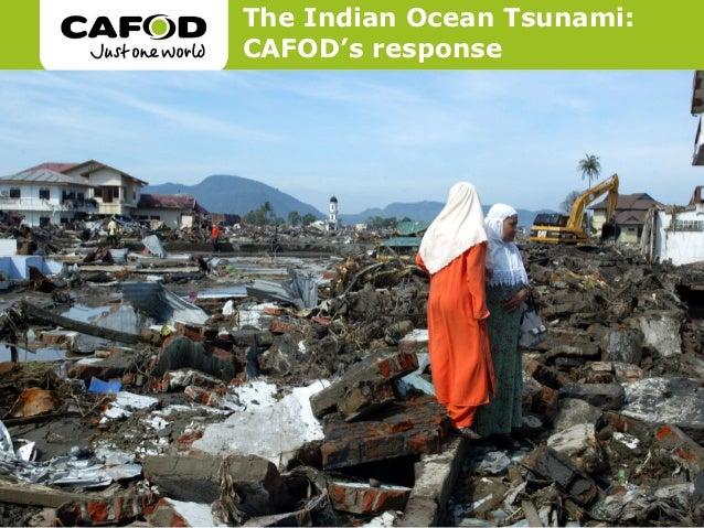 The Indian Ocean Tsunami:CAFOD's response