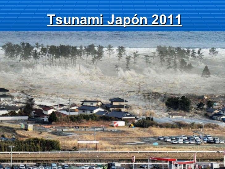 Tsunami de japon jap n