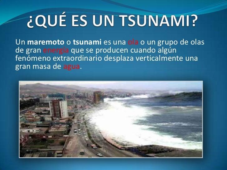 …Se deben cumplir tres requisitos:  1. Que el sismo sea grado 6,5 o superior en la escala de Richter.  2. Que la distancia...