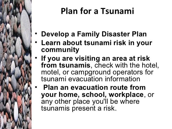 Tsunami powerpoint