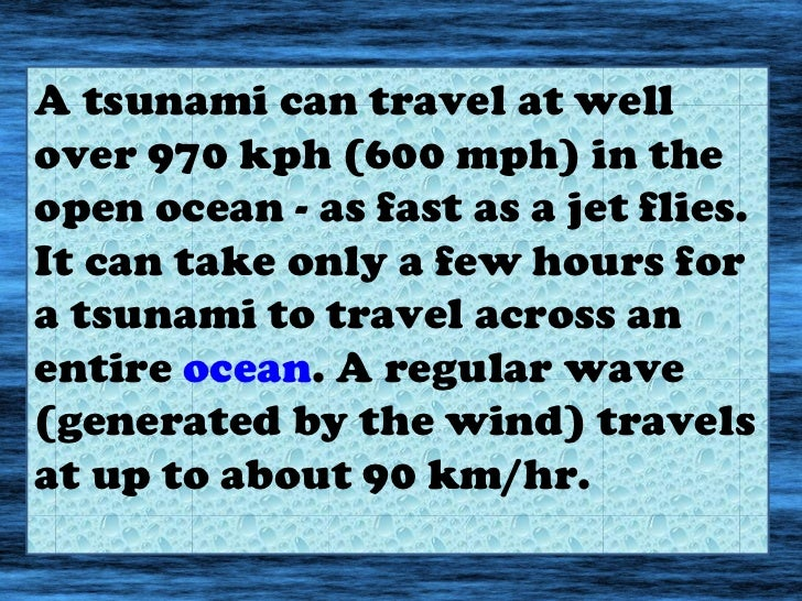 tsunami powerpoint, Presentation templates