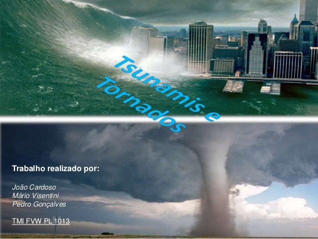 Trabalho realizado por: João Cardoso Mário Visentini Pedro Gonçalves TMI FVW PL 1013