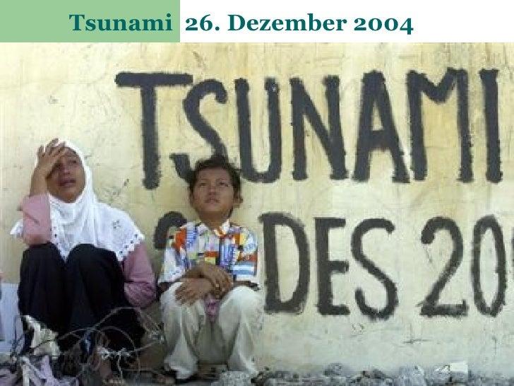 Tsunami 26. Dezember 2004