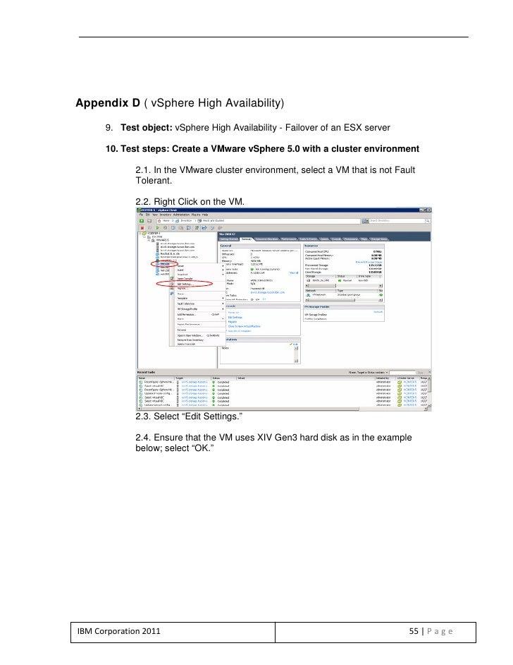 VMware vSphere 5 and IBM XIV Gen3 end-to-end virtualization