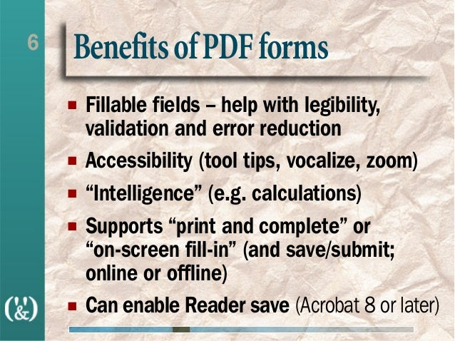 Enhancing PDFs with Form Fields (using FrameMaker-to-Acrobat