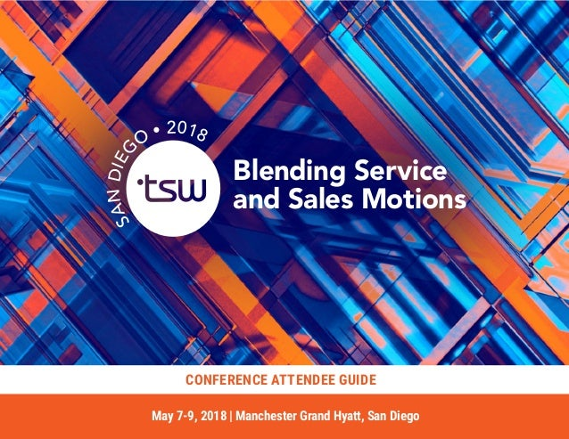 Tsw San Diego 2018 Conference Attendee Guide