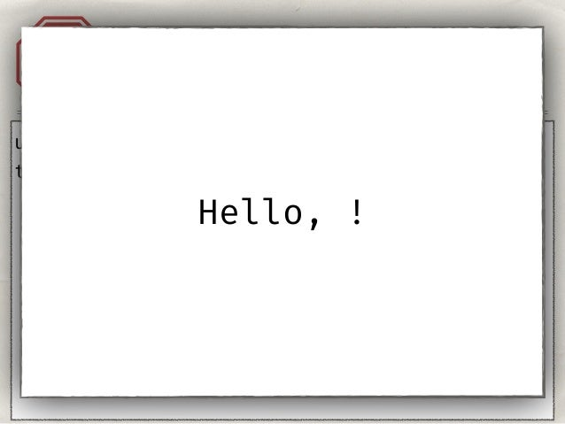 """Injection. Templates.A1 user = """"{{''}}"""" template = 'Hello, %s!' % user Hello, <class 'str'>!"""