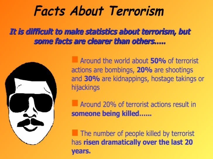 Terrorism and left wing terrorist groups