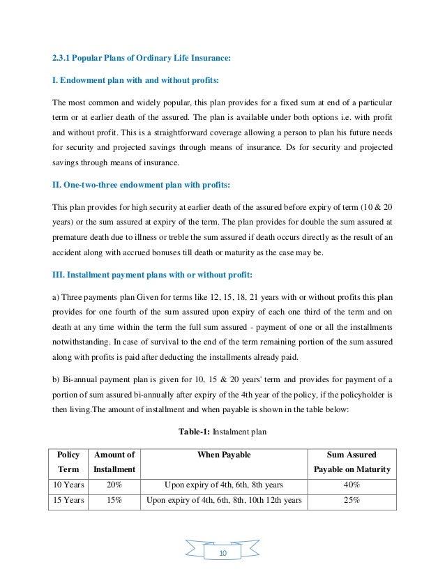 Internship Report on Financial Analysis of Delta Life ...